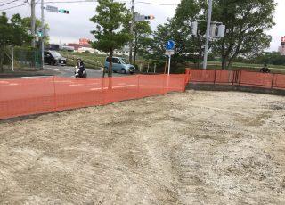福岡市東区 新築工事 仮囲い足場工事