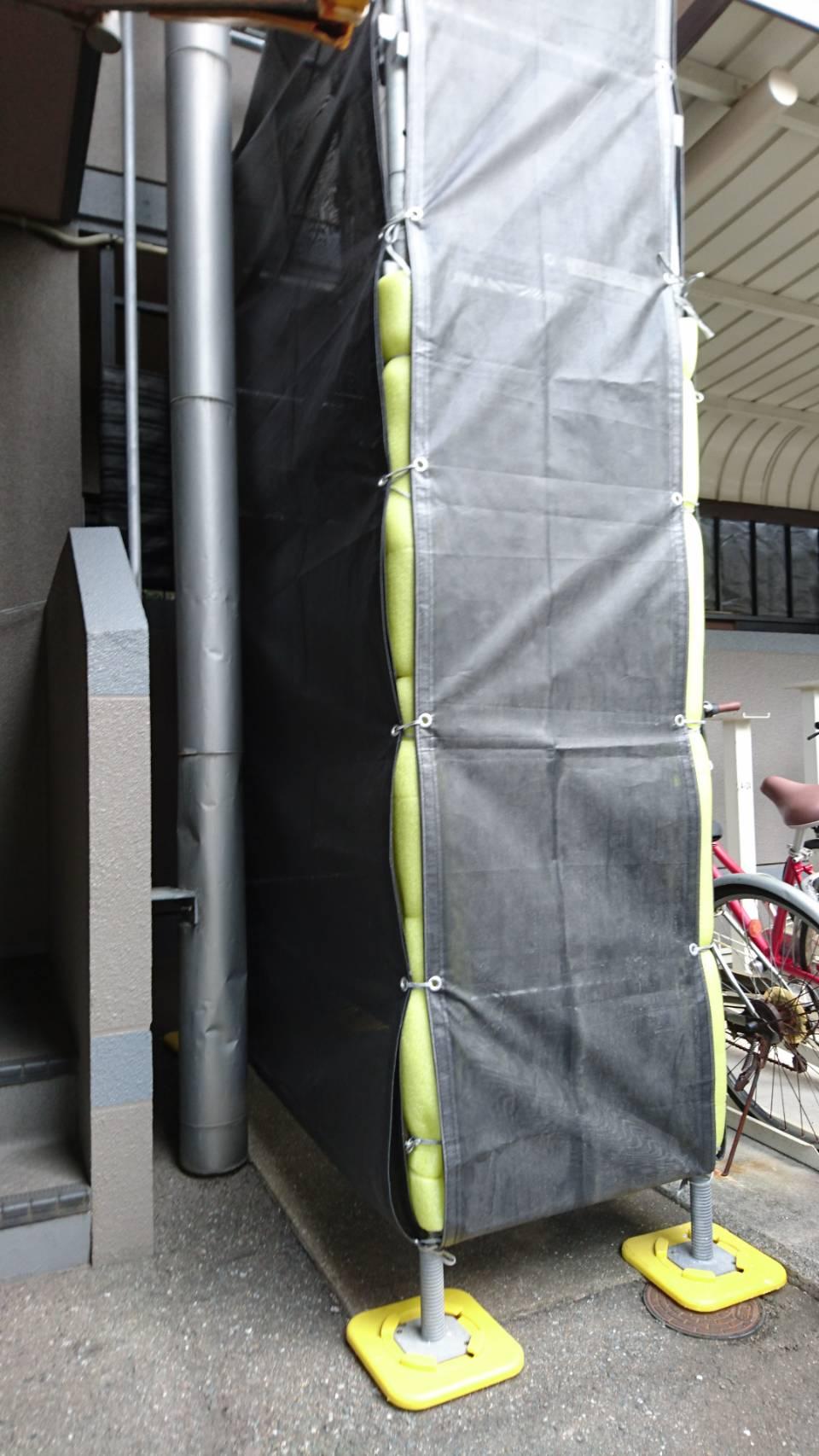 熊本県熊本市 部分足場工事