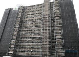 糟屋郡粕屋町  エバーライフ 15階建 30年2月に組み立て②