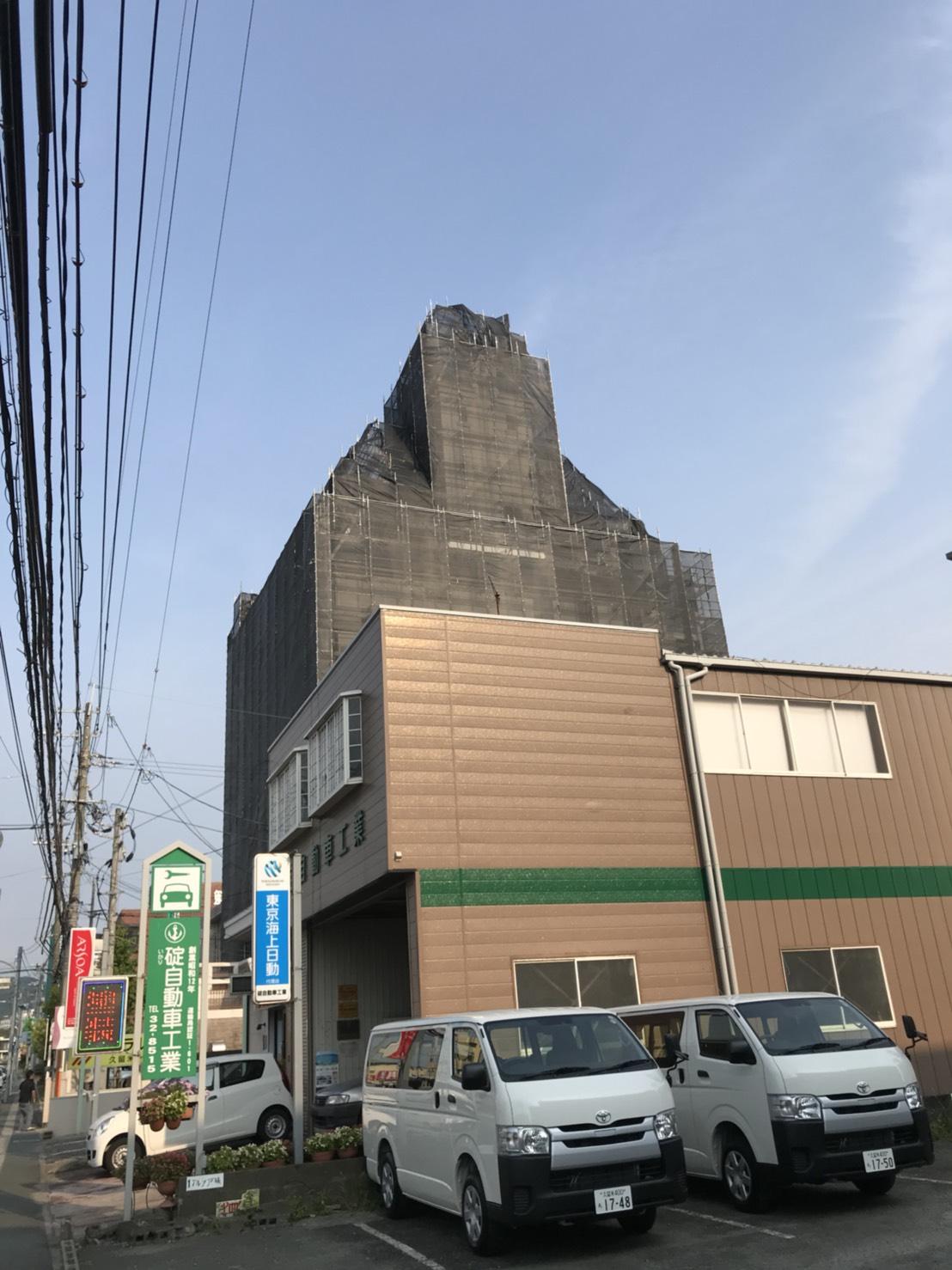 福岡県久留米市 オランダビル改修工事②