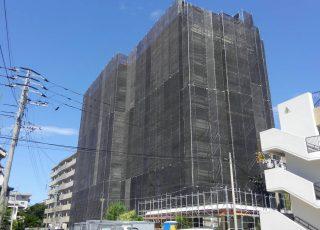 福岡県福岡市早良区 ビレッタ百道  10階建 改修工事