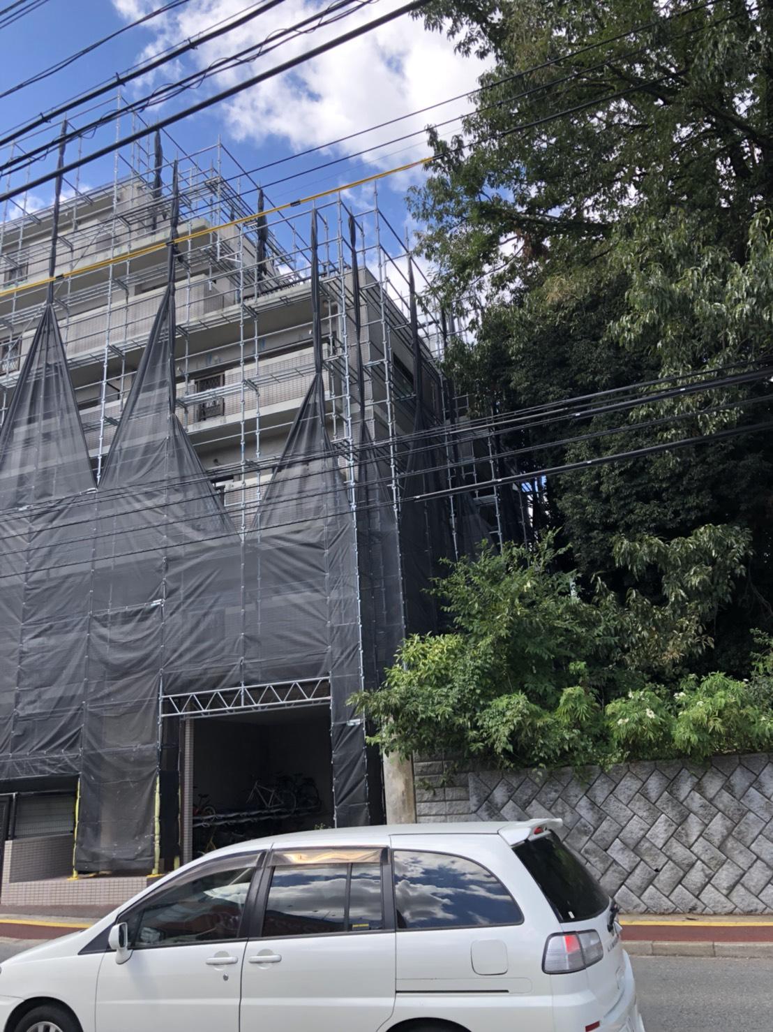 株式会社HAYATE 台風24号 対策養生 その③