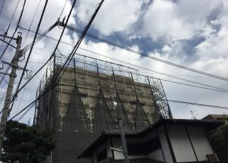 株式会社HAYATE 台風24号 対策養生 その②
