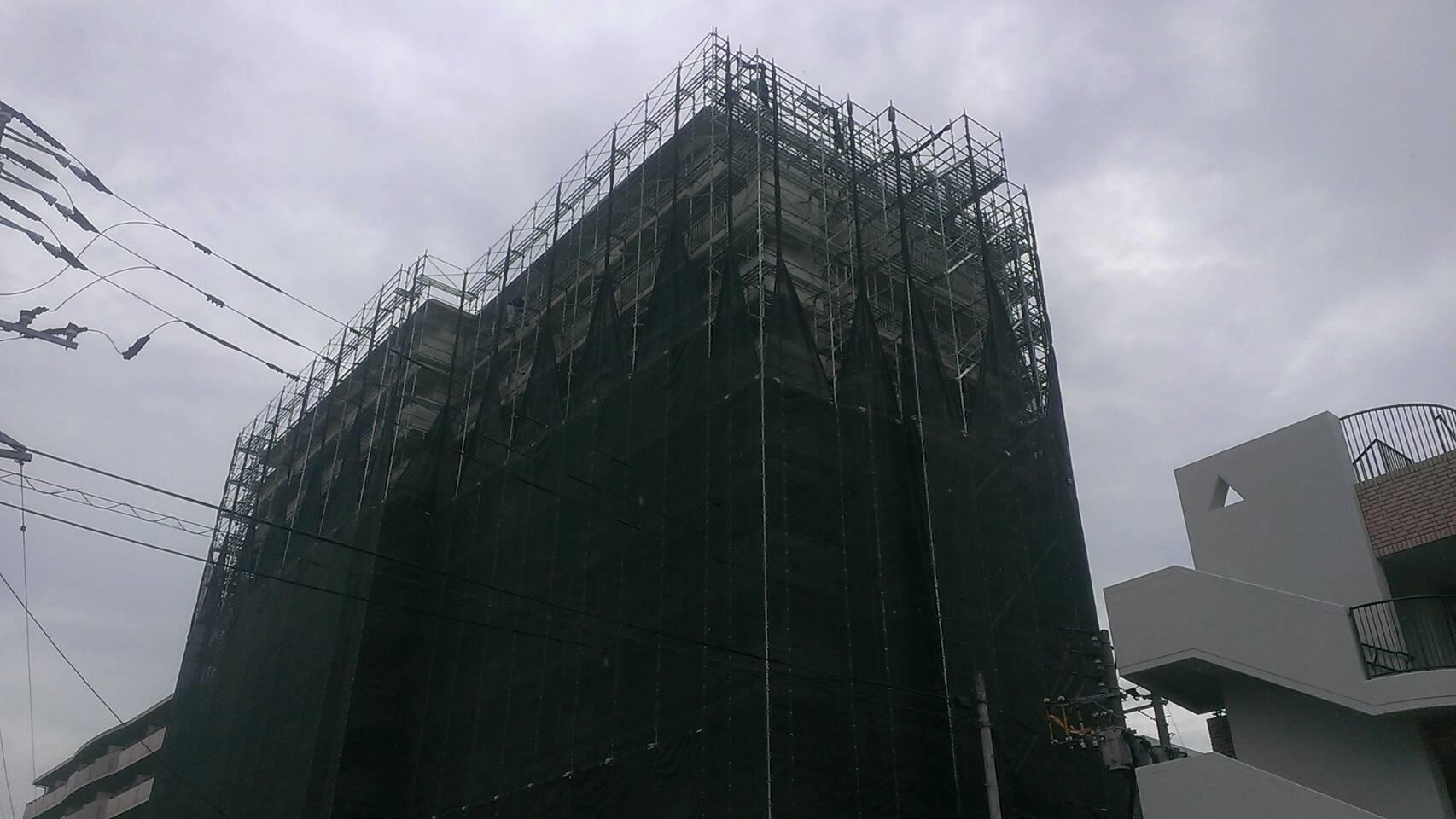 株式会社HAYATE 台風25号 対策養生 その③
