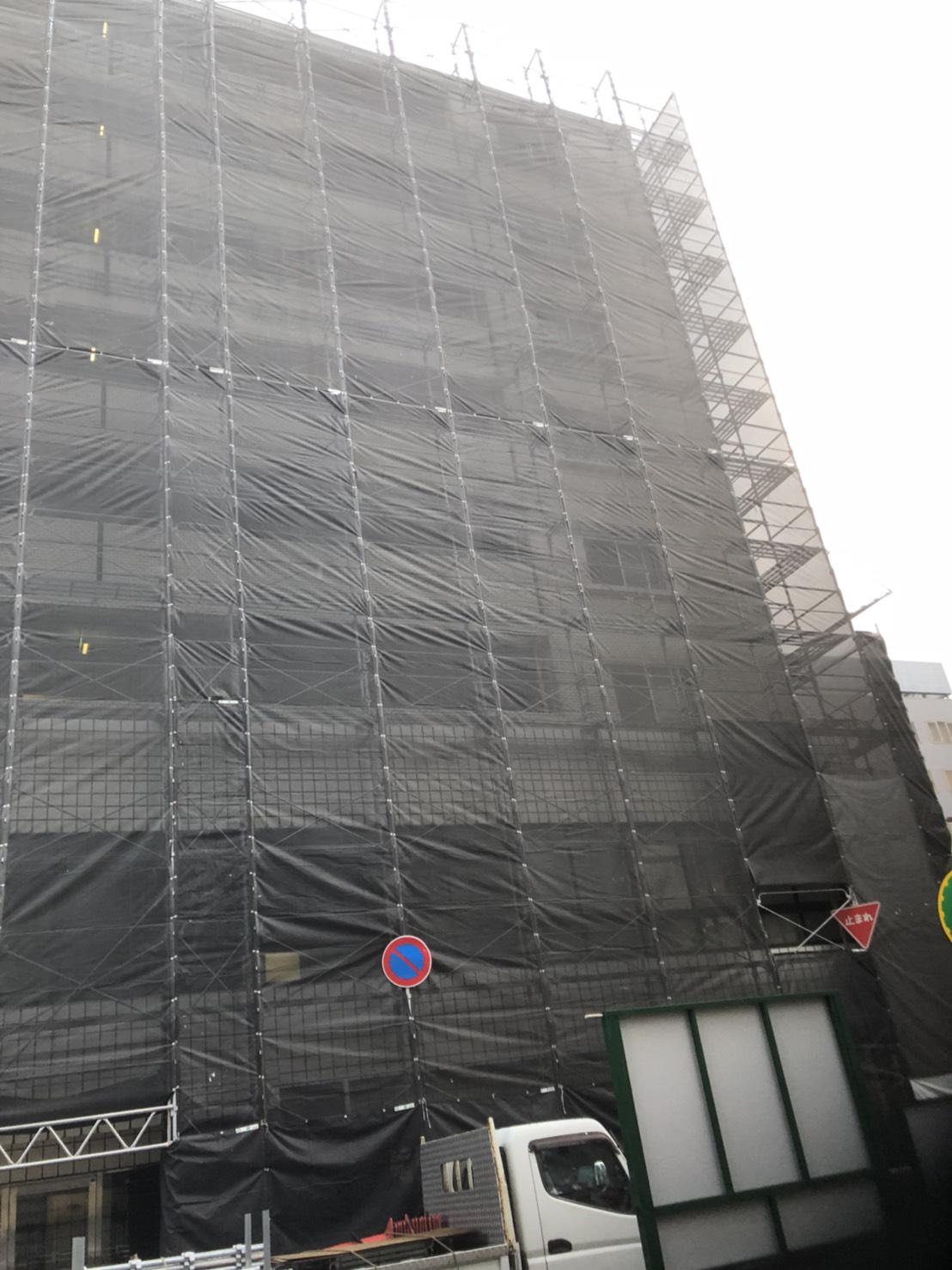 福岡市中央区  7階建 大規模修繕工事その⑵