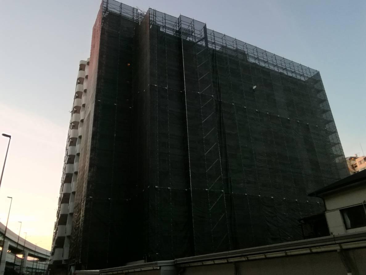 福岡県福岡市博多区千代 大規模修繕工事 その⑴