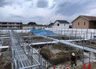 福岡県福津市 通路足場組立工事