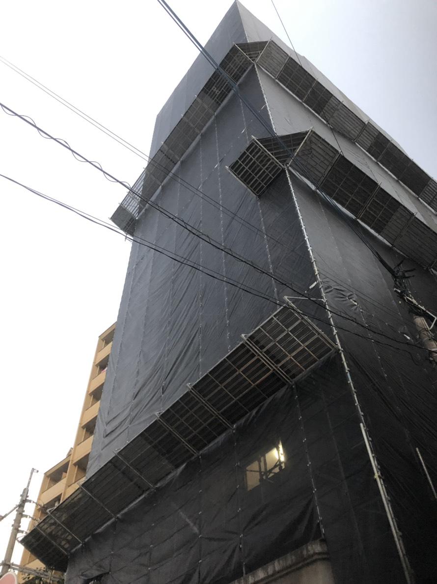 福岡県福岡市城南区 15階建 大規模修繕工事その⑴