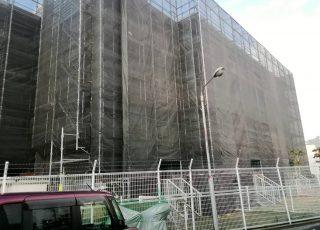 福岡県福岡市南区 4階建 2000㎡  マンション改修工事 その②