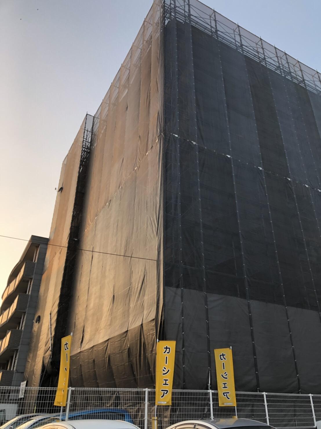 福岡県福岡市西区 大規模修繕工事⑵