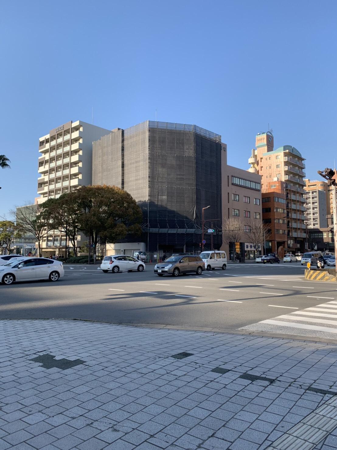 福岡県福岡市博多区  7階建 大規模修繕工事