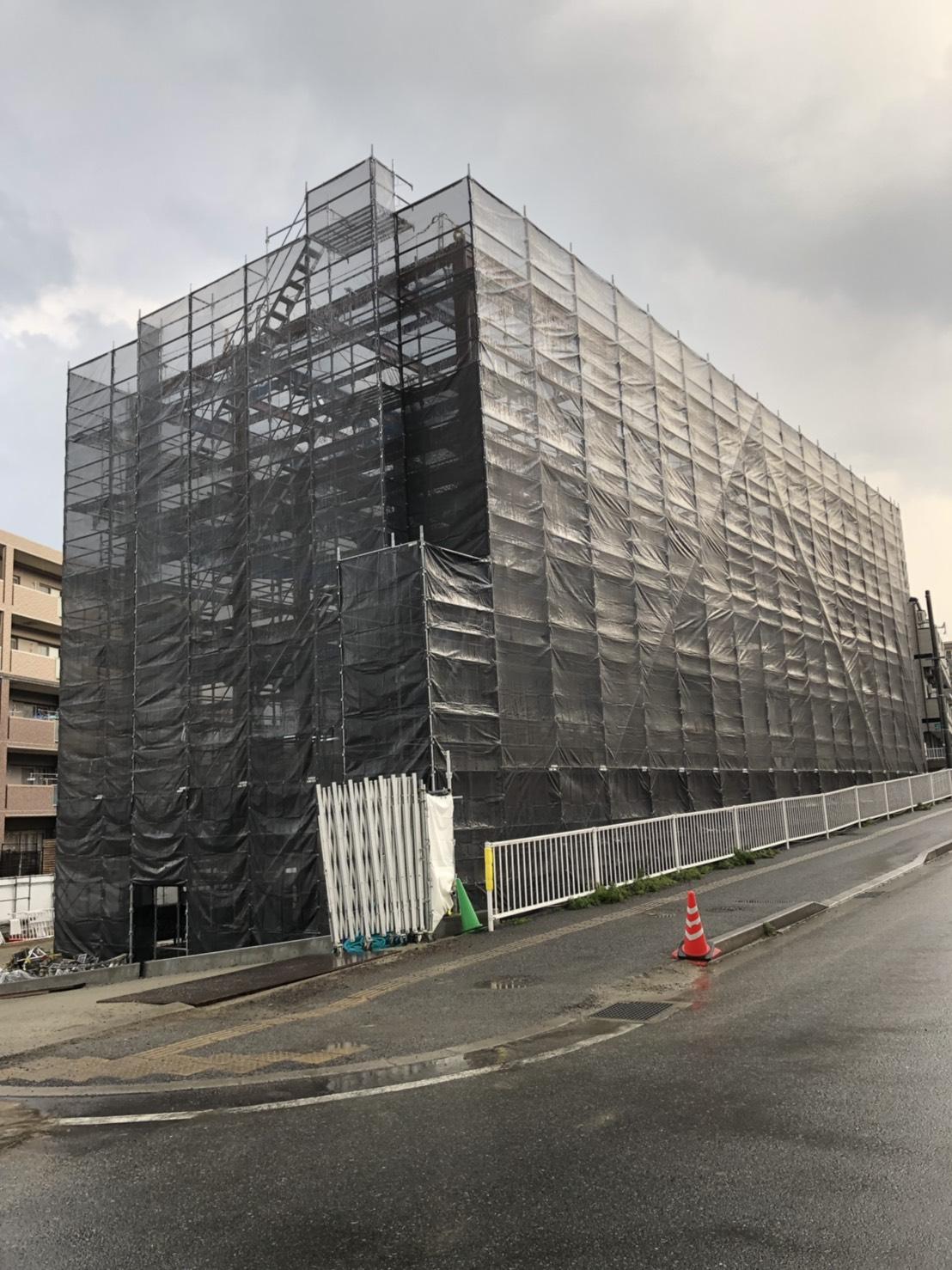 福岡県福岡市早良区  鉄骨造 新築工事①