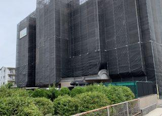 福岡県福岡市西区 ロジメント生の松原Ⅱ 7階建 大規模修繕工事