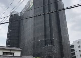 福岡県福岡市南区 エレガンス寿 10階建 大規模修繕工事②