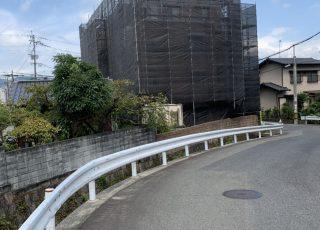 福岡県筑紫野市  改修工事 足場②