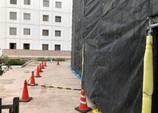 福岡県福岡市中央区大名 西鉄グランドホテル 屋上高架水槽部分 内外部改修工事②