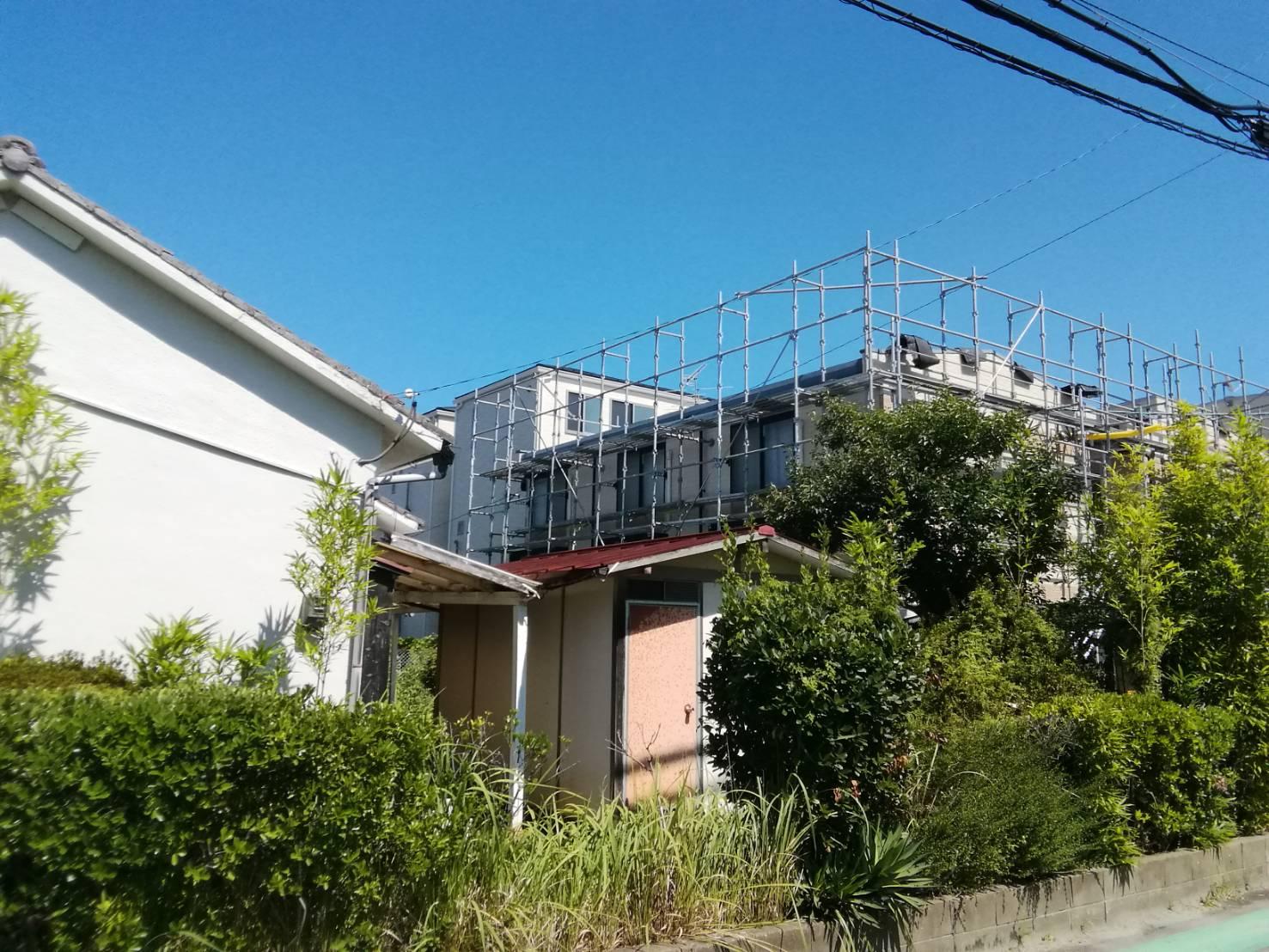 福岡県福岡市南区横手 アパート改修工事②