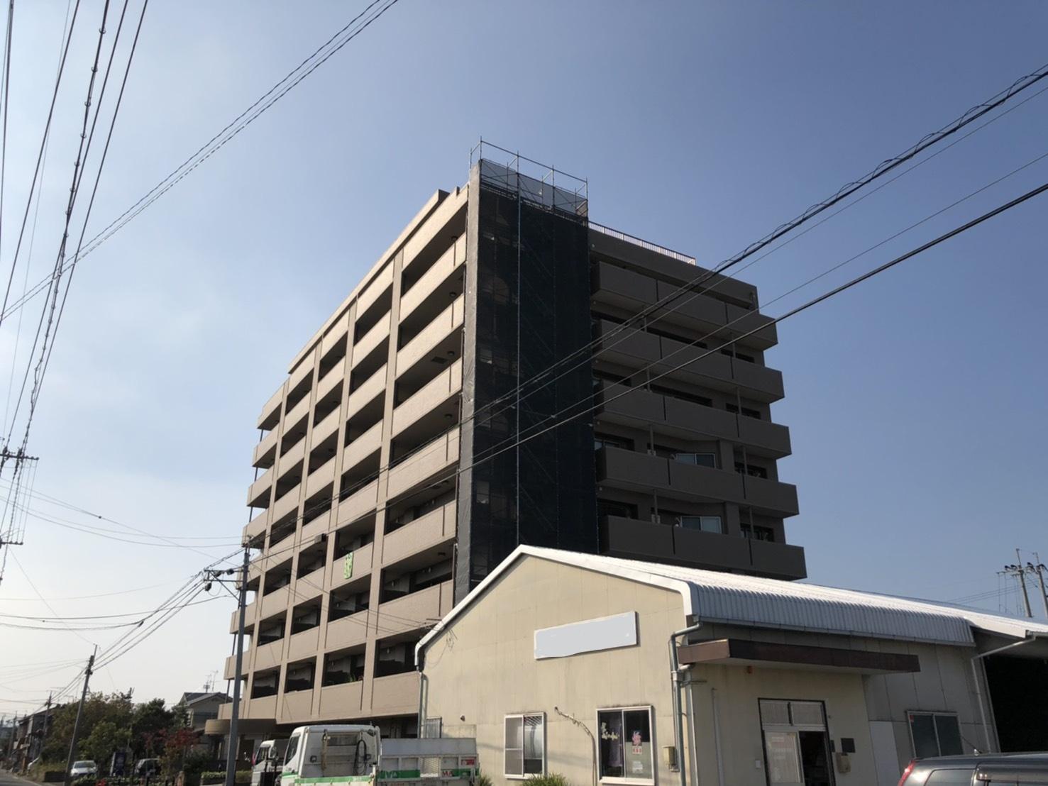 佐賀県大和町 昇降足場工事