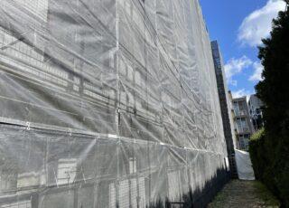 福岡県福岡市早良区 改修工事 足場①