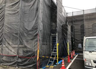福岡県那珂川市 某キリスト教会 外壁改修工事