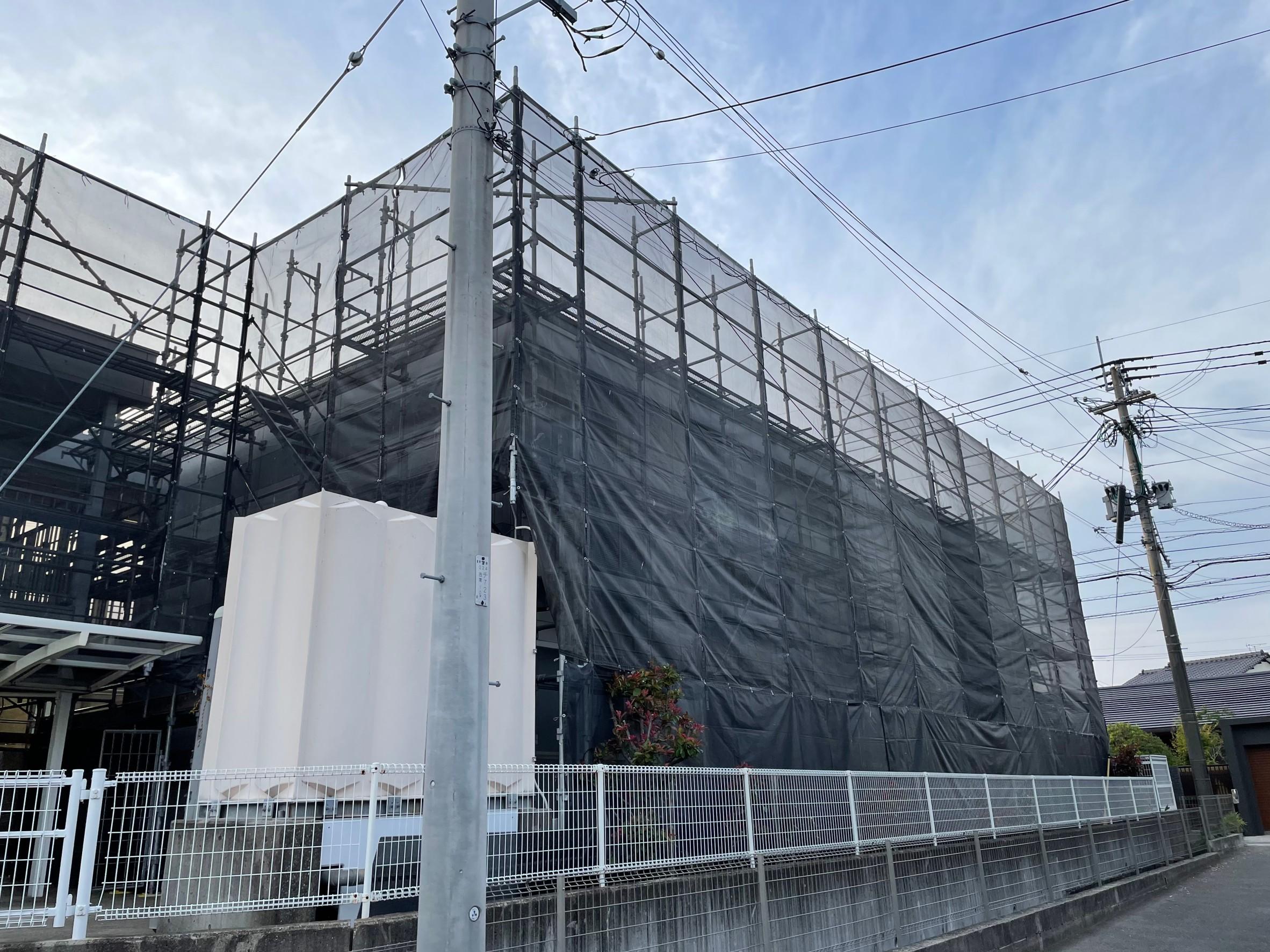 福岡県福岡市城南区 アパート改修工事②