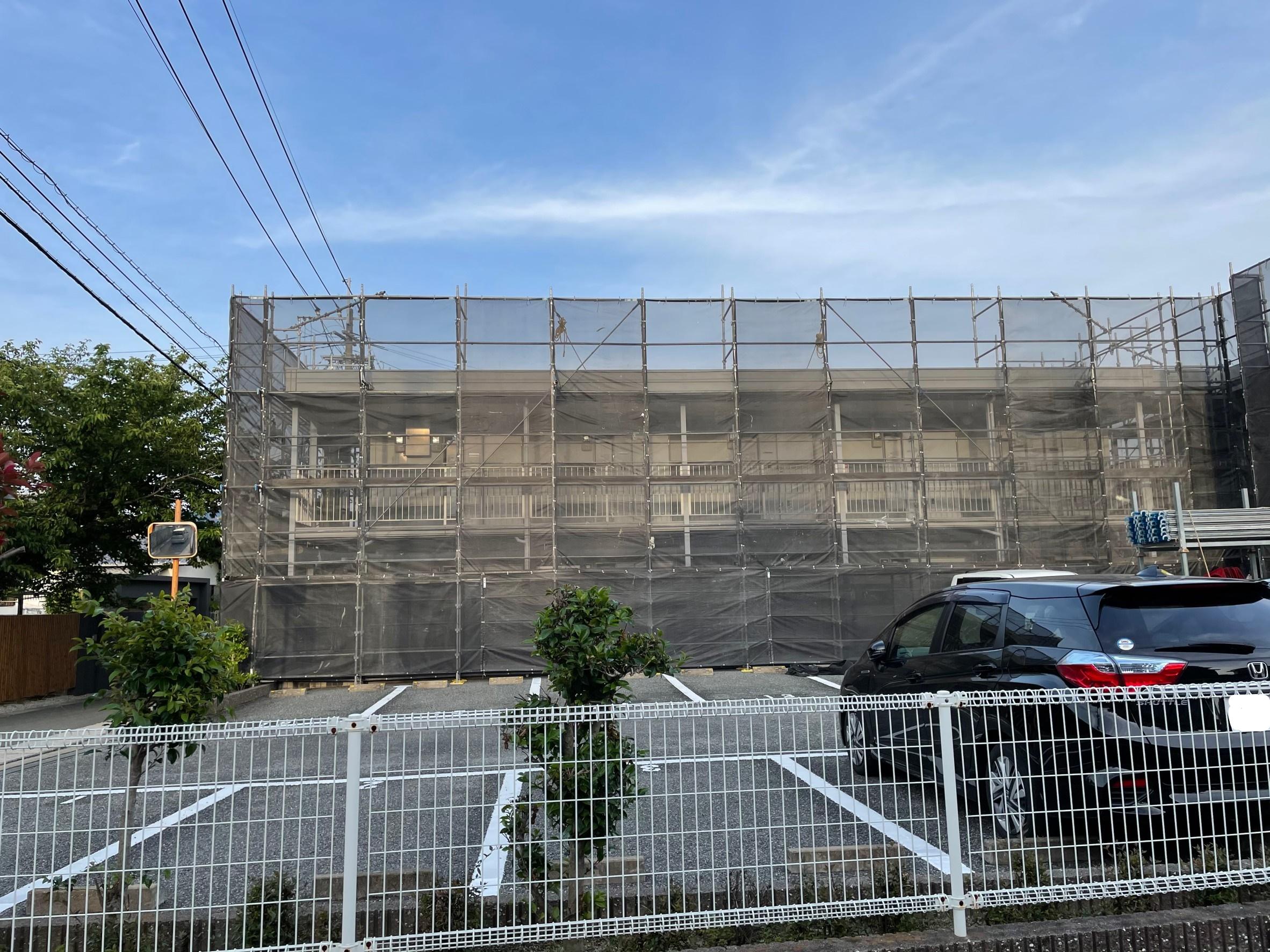 福岡県福岡市城南区 アパート改修工事①