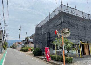 福岡県糸島市 住宅足場工事②